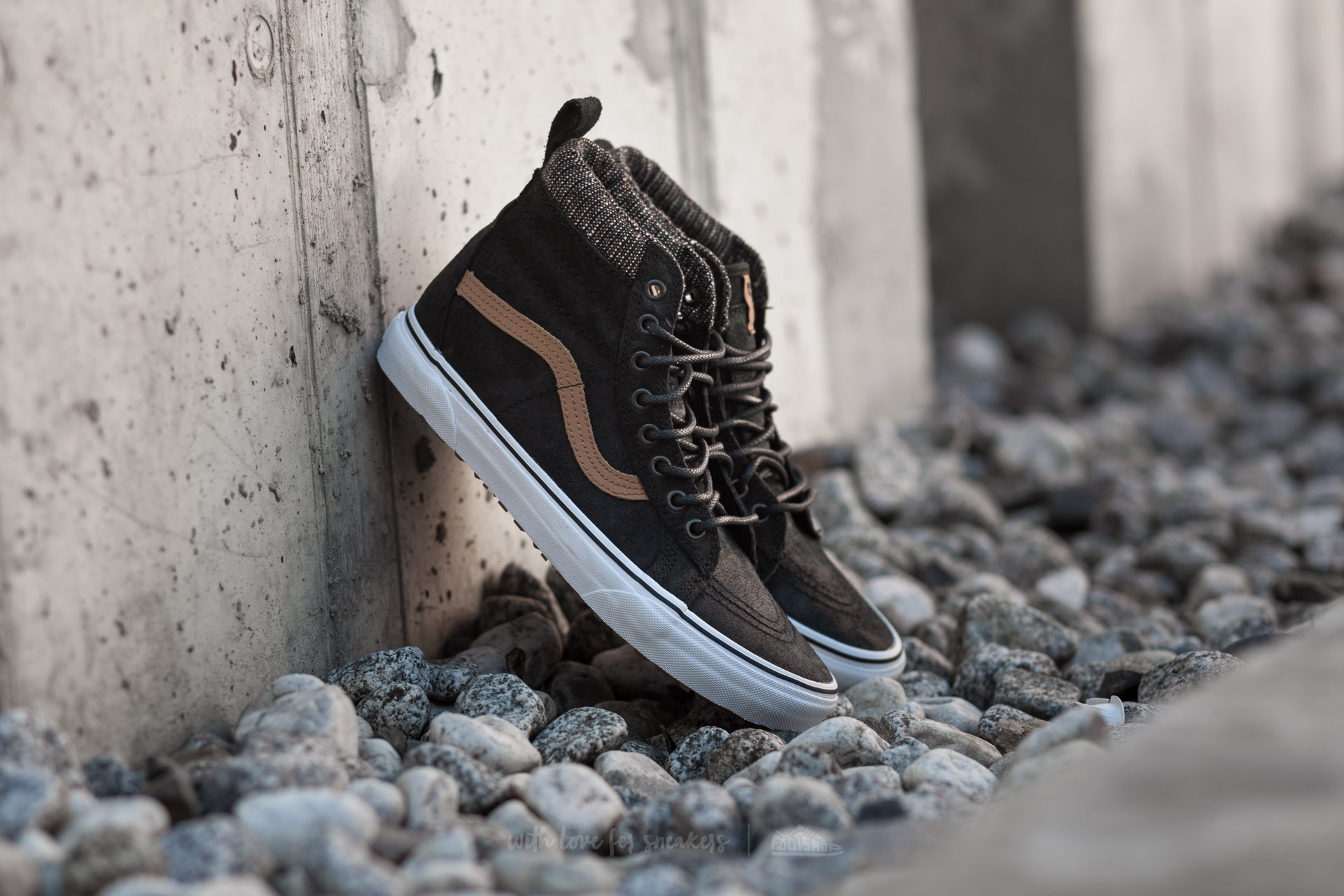 Vans Sk8 Hi MTE (MTE) Black Tweed | Footshop