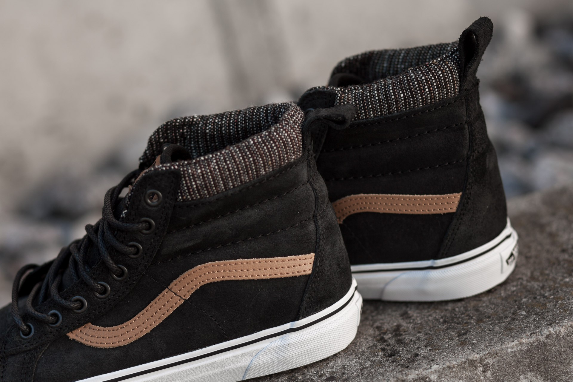 Vans Sk8-Hi MTE (MTE) Black  Tweed at a great price £ 080b07c1b1f