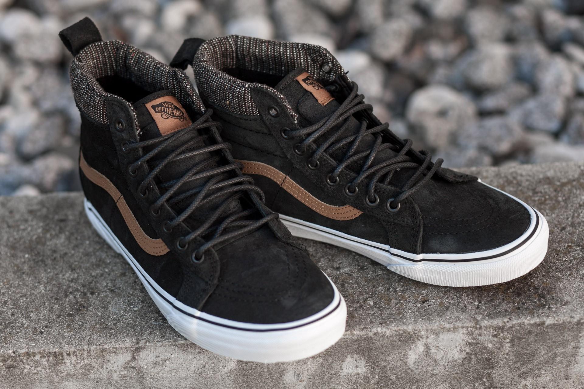 Vans Sk8 Hi MTE (MTE) Black Tweed | Footshop