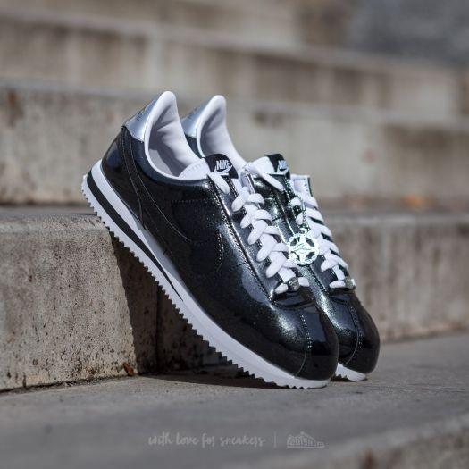 half off 72ed3 760c3 Nike Cortez Basic Premium QS Black/ Black-White-Metallic ...