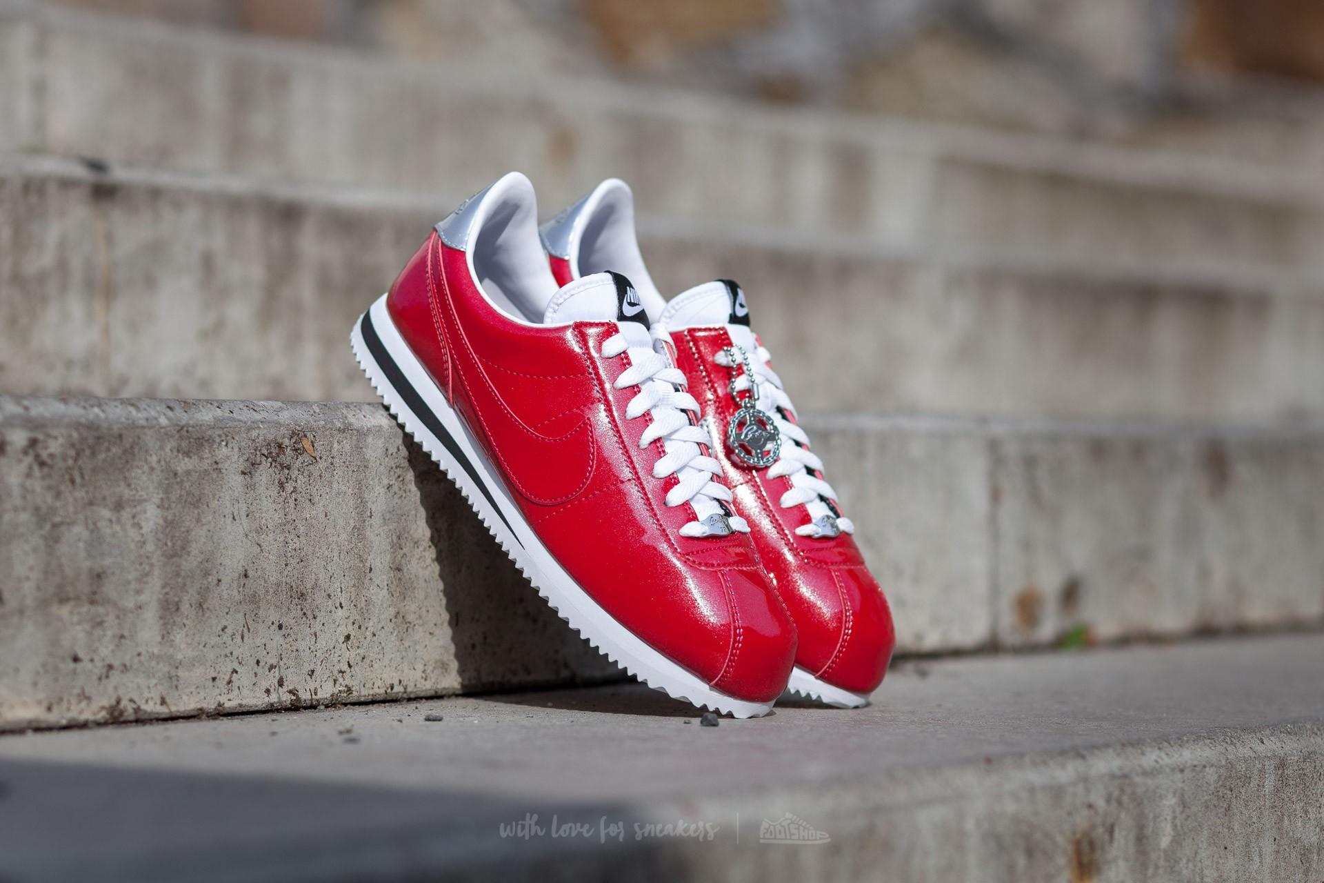 buy online 0873c fa5cf Nike Cortez Basic Premium QS Gym Red/ Gym Red-White-Metallic ...