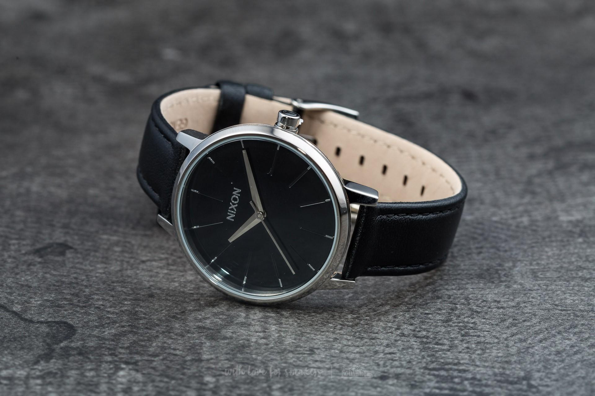 d37fa5d97 Nixon Kensington Leather Black | Footshop