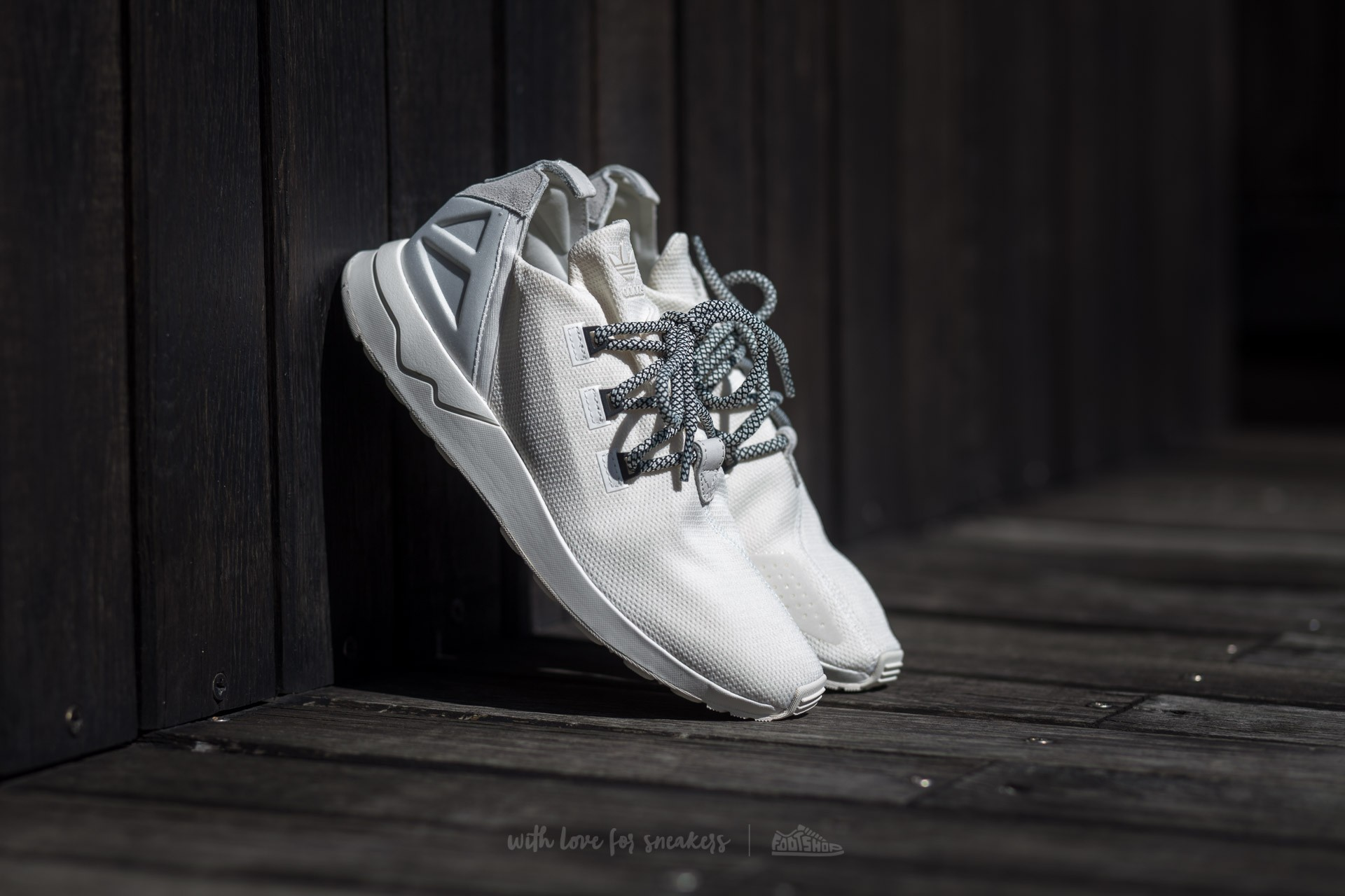 pretty nice a6a8d 87ba9 adidas ZX Flux ADV X Off White/ Off White/ Core Black ...