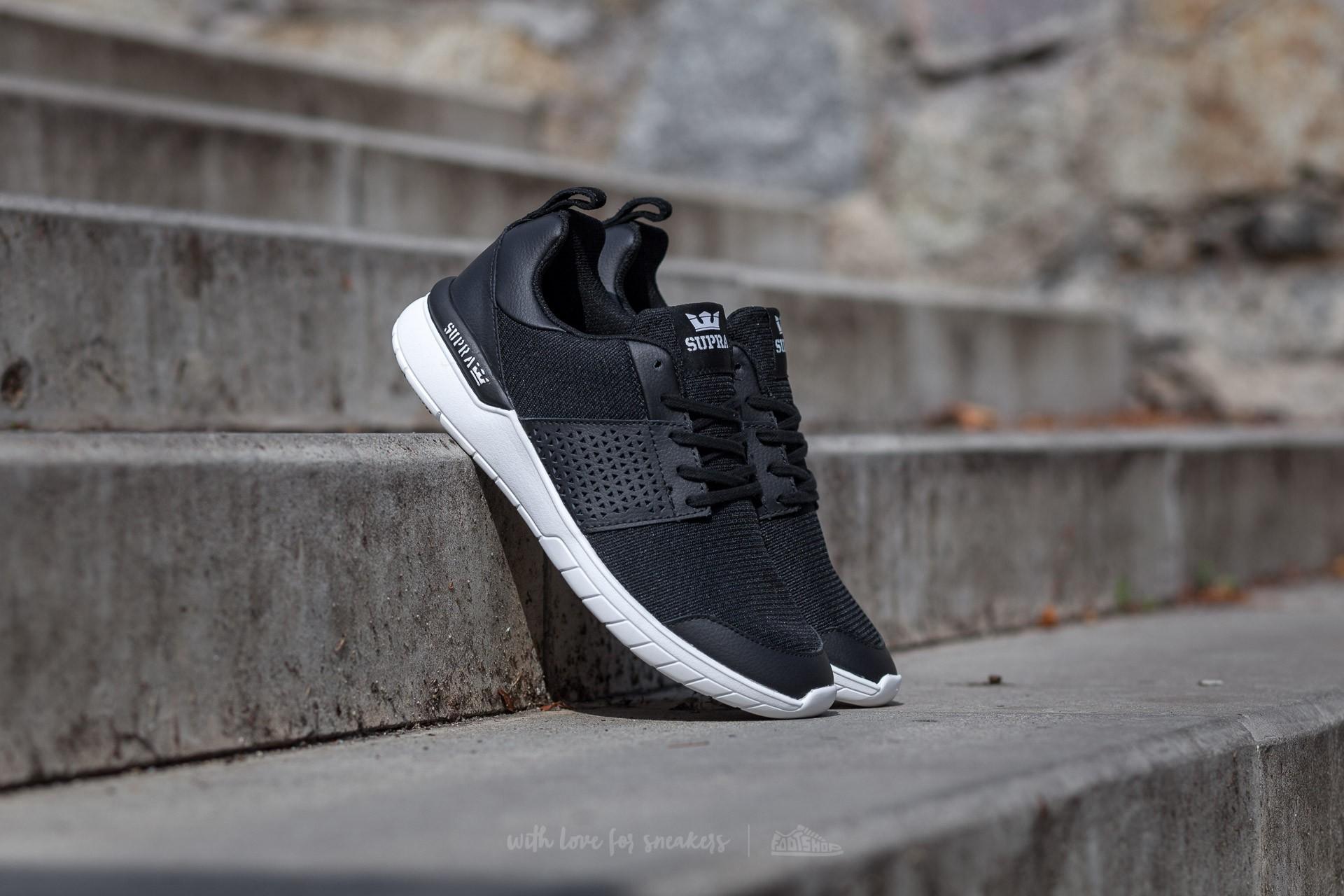 Men's shoes Supra Scissor Black-White