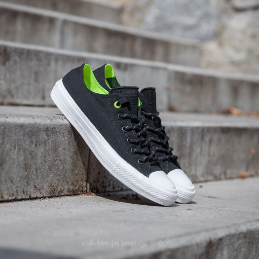 Converse Chuck Taylor All Star II Ox Black  Volt  White  06c52fd14