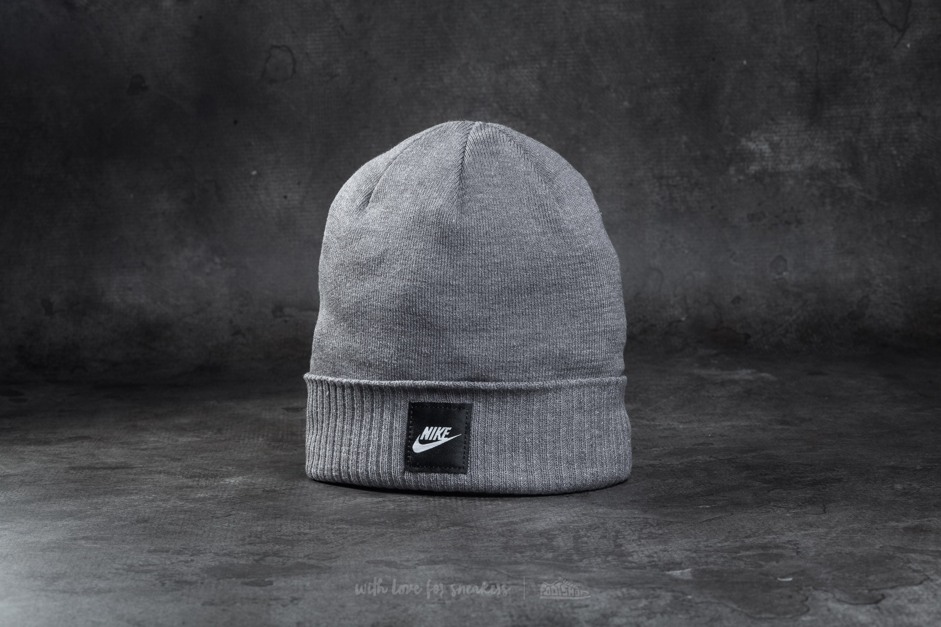 12acd32c642 Nike Futura Beanie Grey