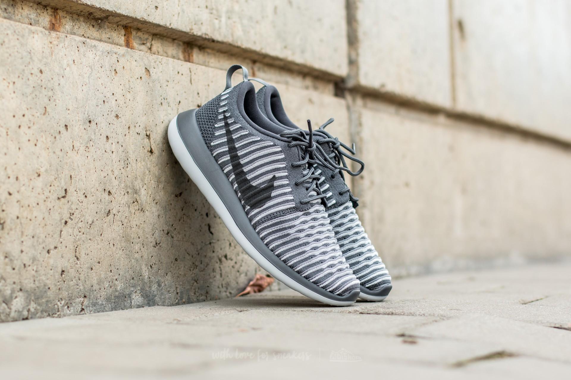 5099084efa64a Nike W Roshe Two Flyknit Dark Grey  Dark Grey-Pure Platinum ...