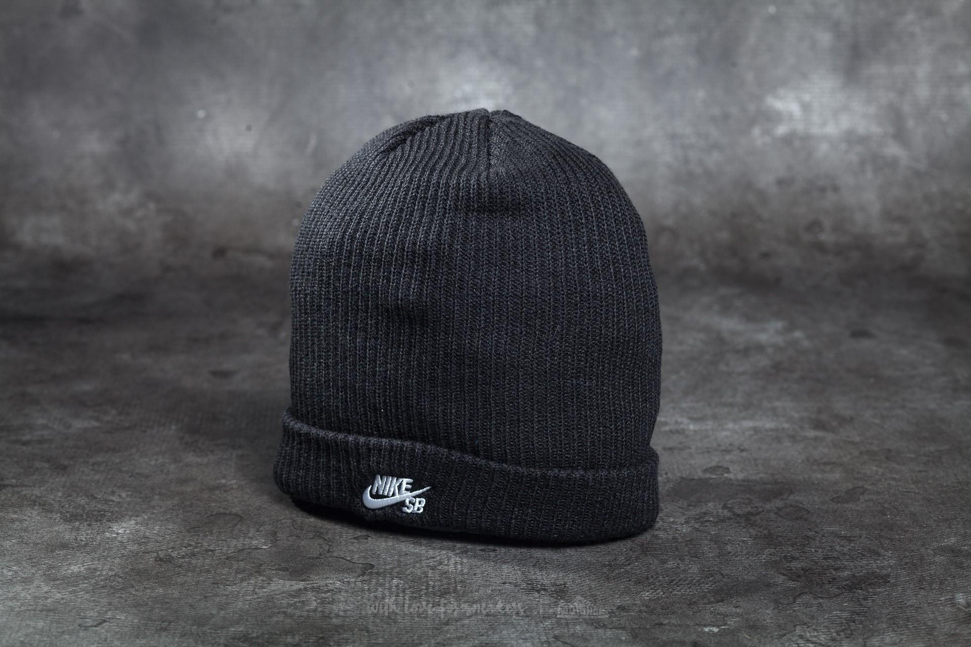 Puede ser ignorado Contribuir instante  Hats Nike SB Fisherman Beanie Black/ White | Footshop