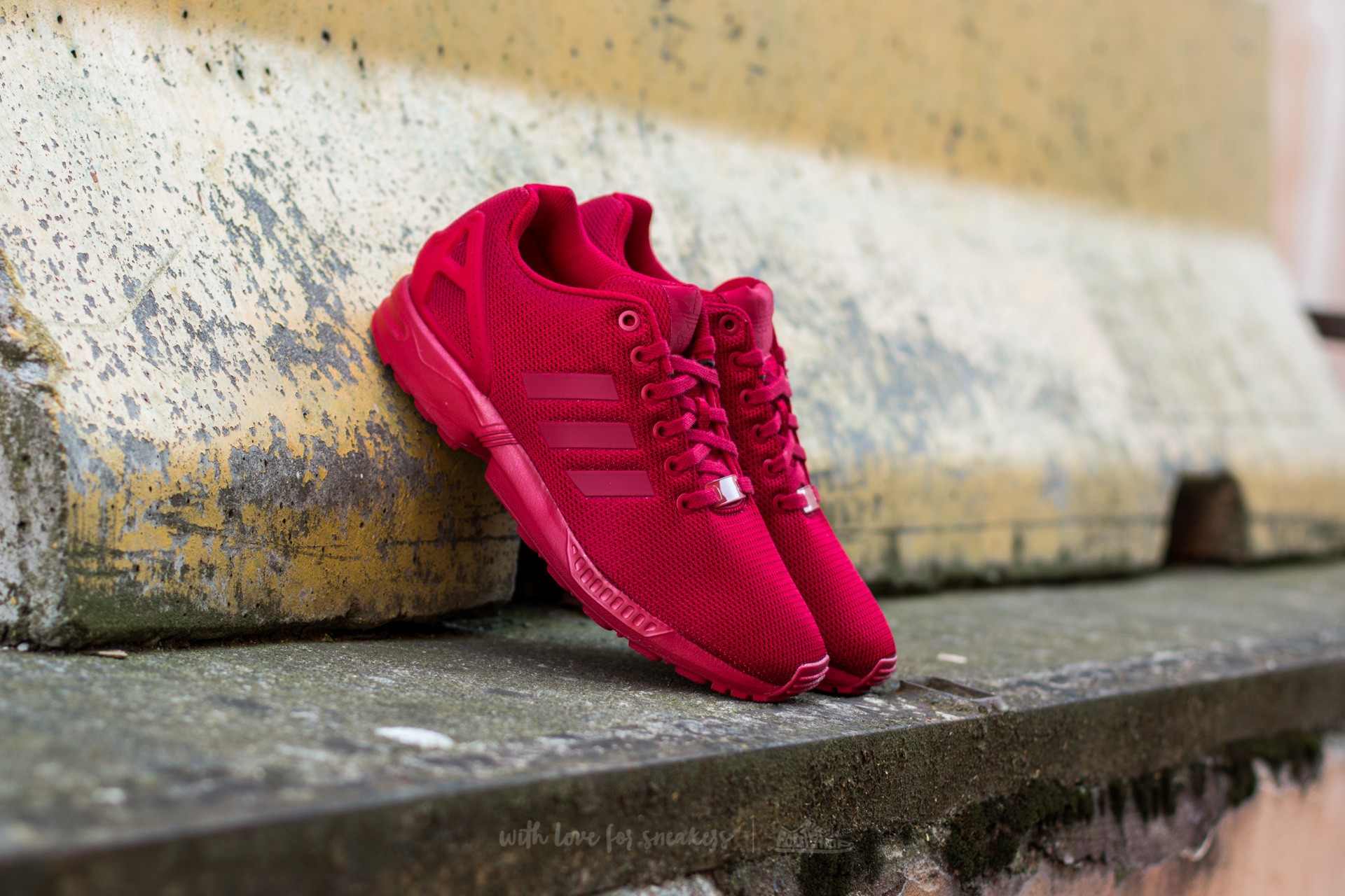 Collegiate Red Power Flux Zx Adidas Footshop Burgundy zIBqxwn4t