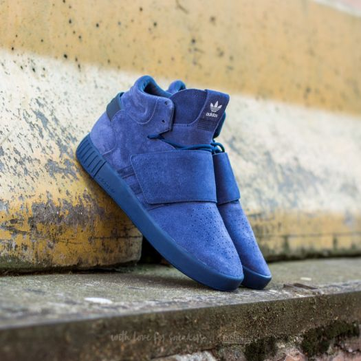 adidas Tubular Invader Strap Trace Blue Trace Blue Ftw