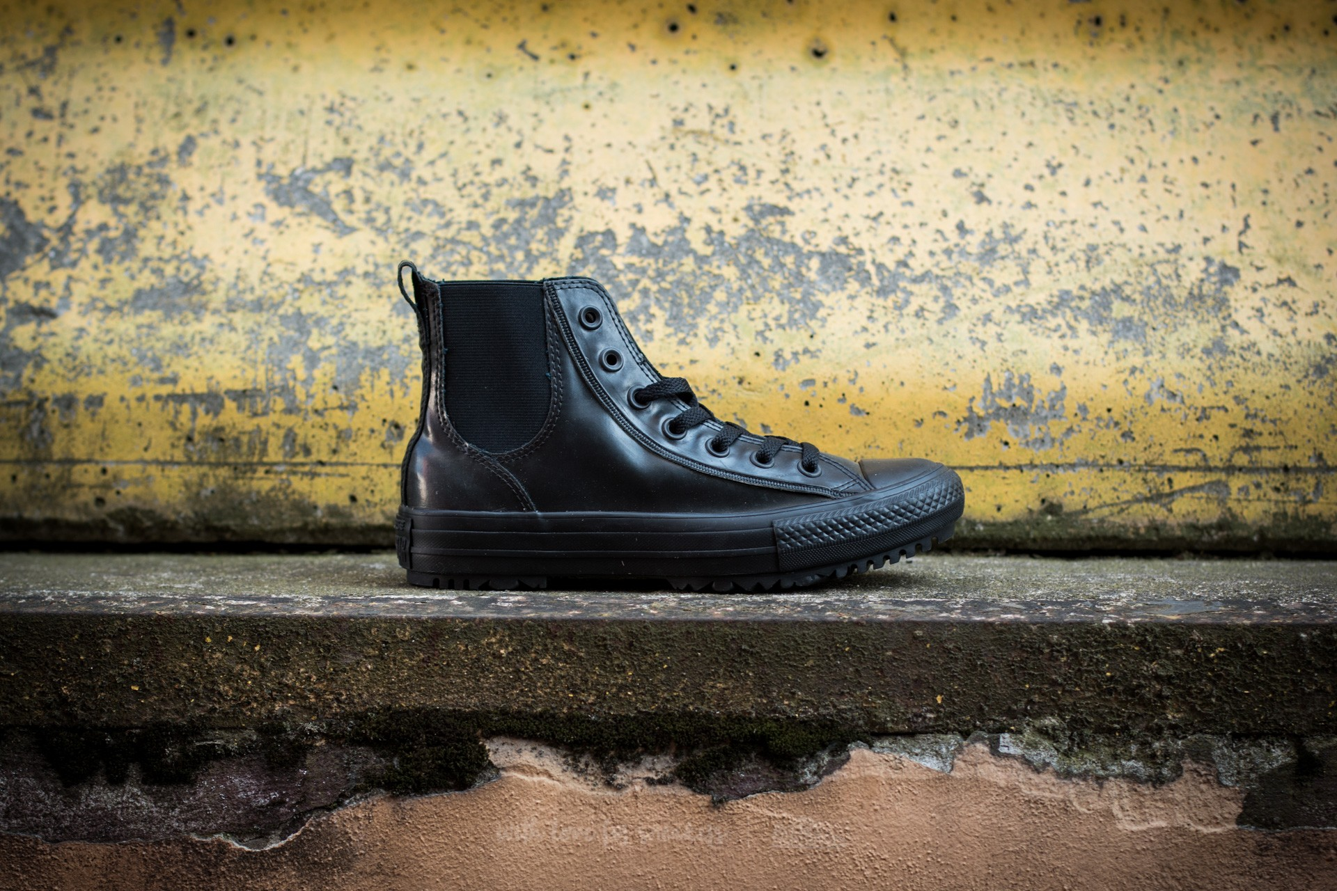 Converse Chuck Taylor All Star Chelsea Boot Rubber Hi Black