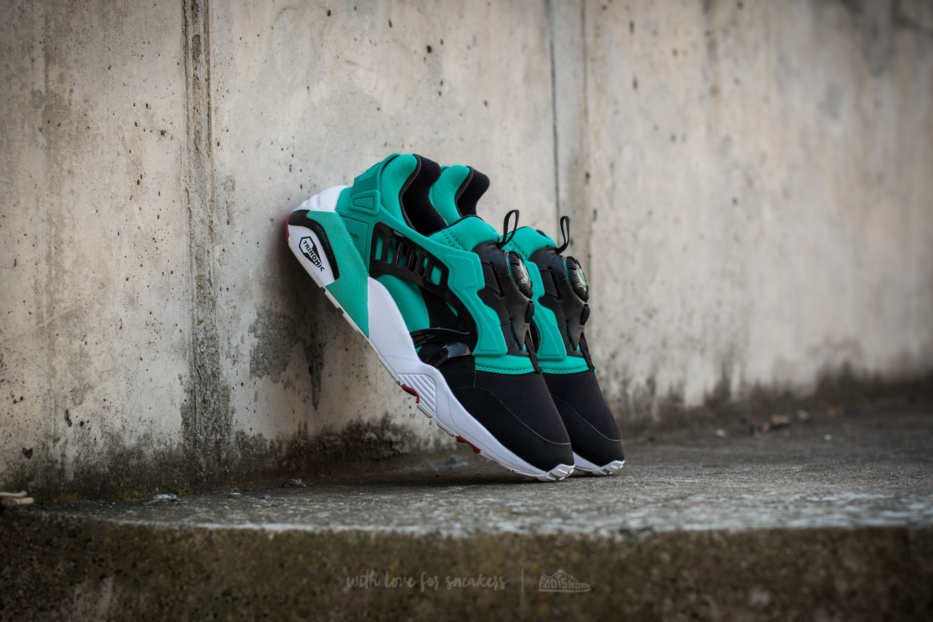 Puma Disc Blaze Electric Spectra Green Black White | Footshop