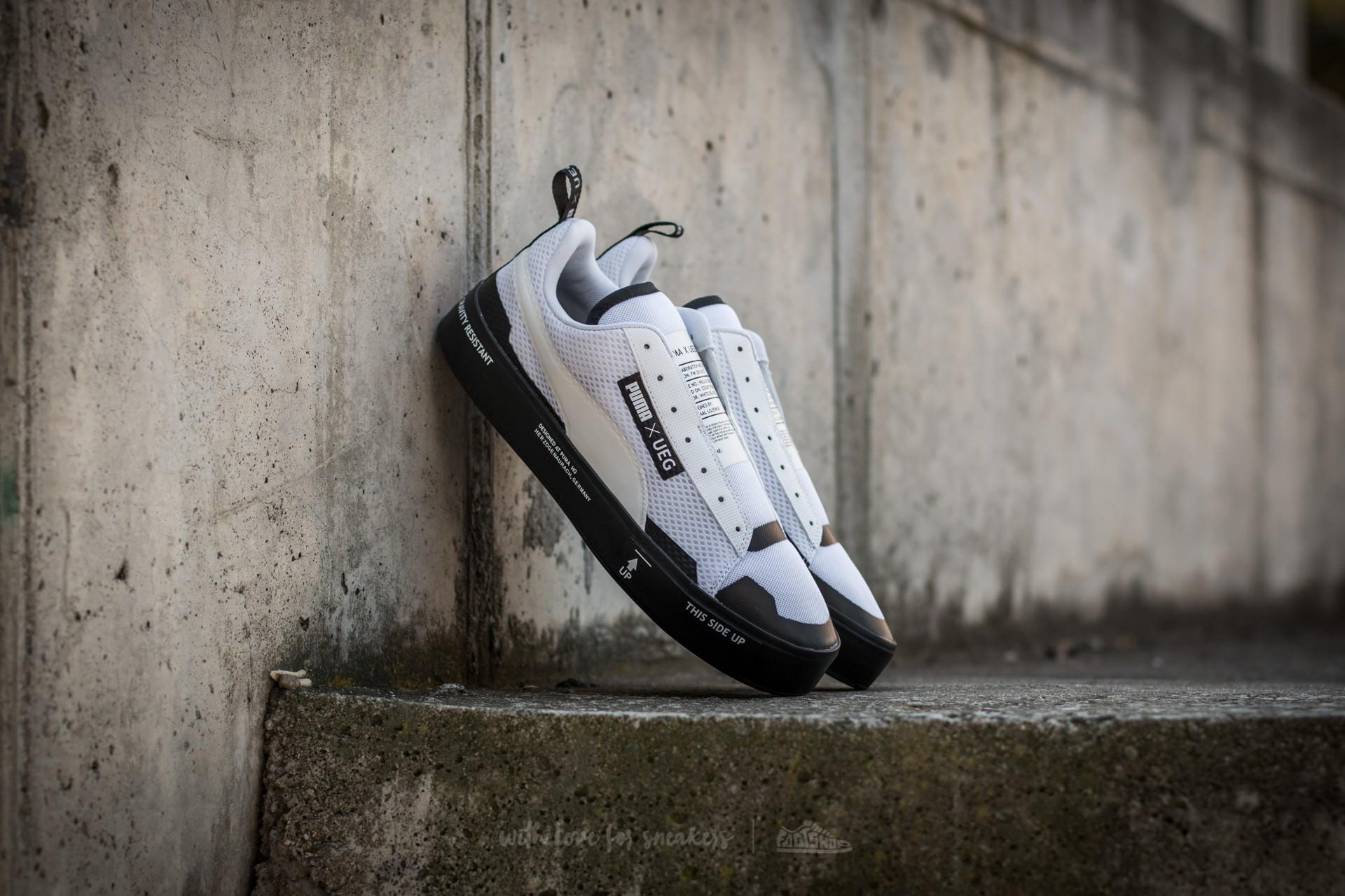 e855157e9e7 Puma Court Play SlipOn x UEG Puma White-Puma Black