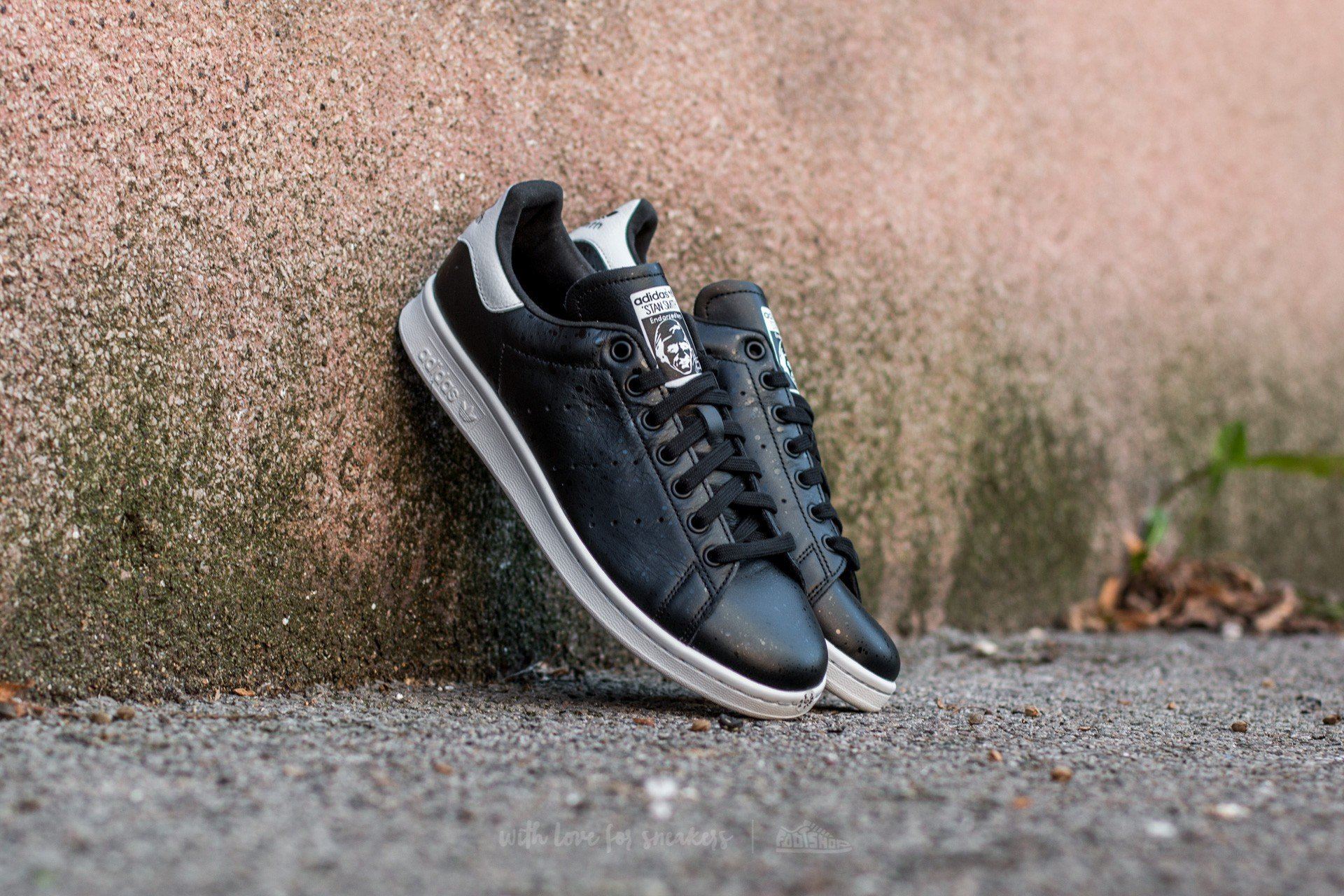Adidas White Core Stan Black Crystal Footshop Smith rqrZ6F