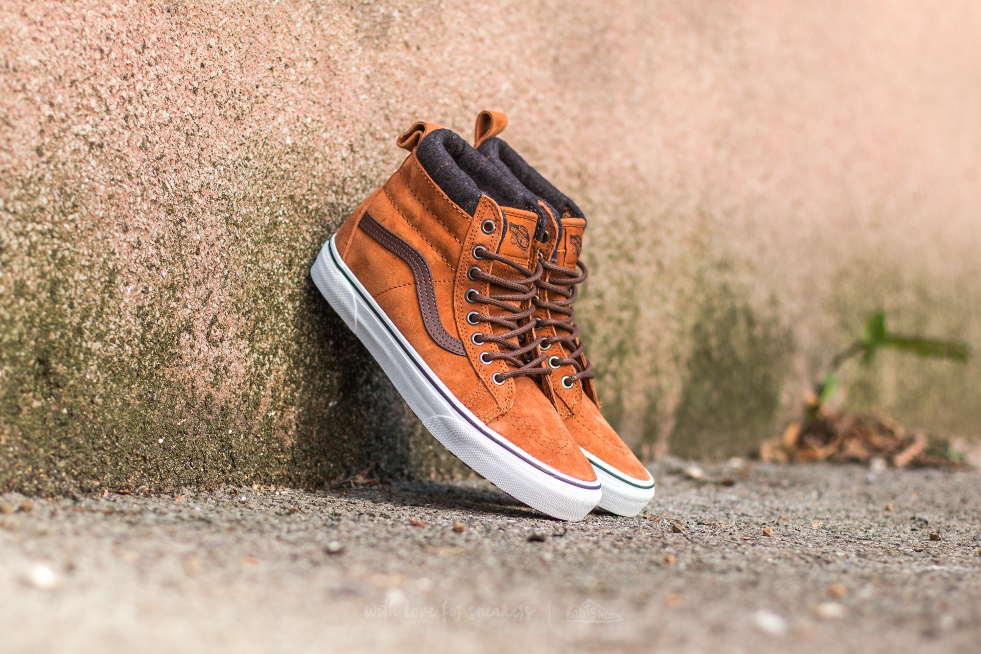 658b630c6b Vans Sk8-Hi MTE Glazed Ginger  Plaid