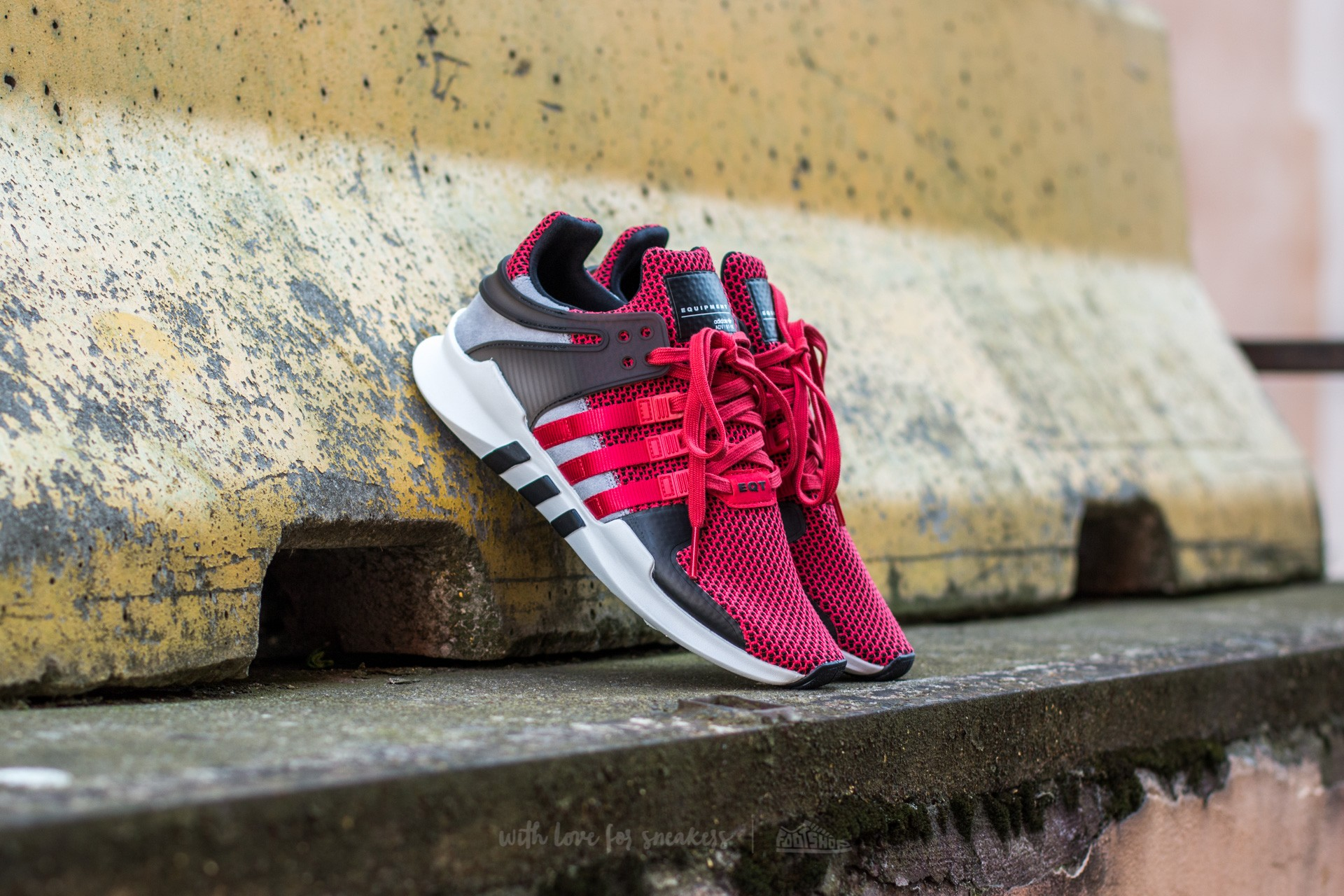026a7abe084f11 adidas Equipment Support ADV Collegiate Red  Black  Vintage White ...