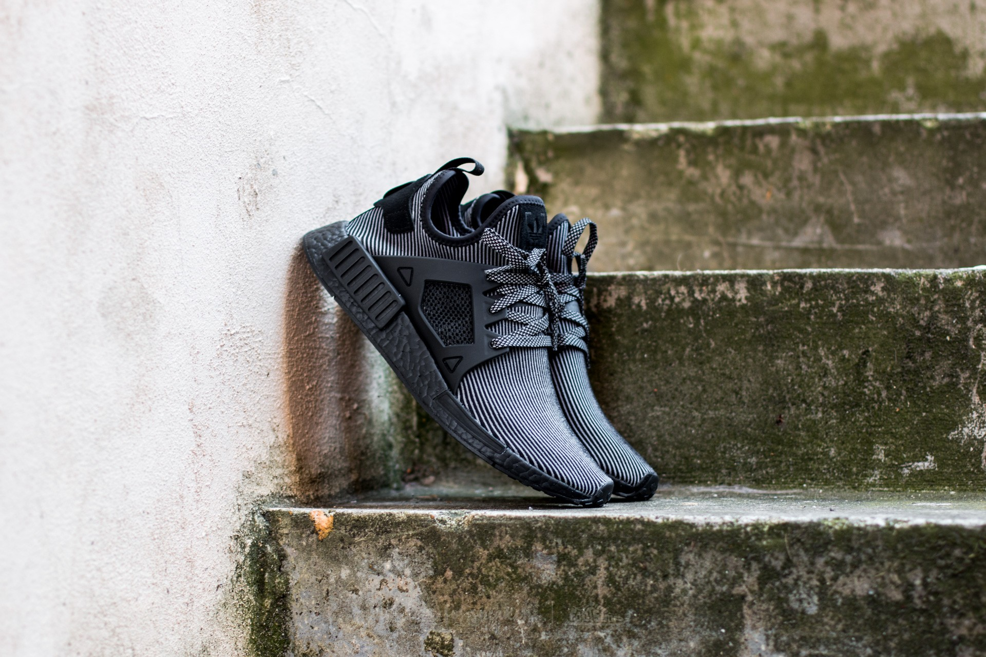 f2386584af643 adidas NMD XR1 Primeknit Core Black  Core Black  White S32211 ...