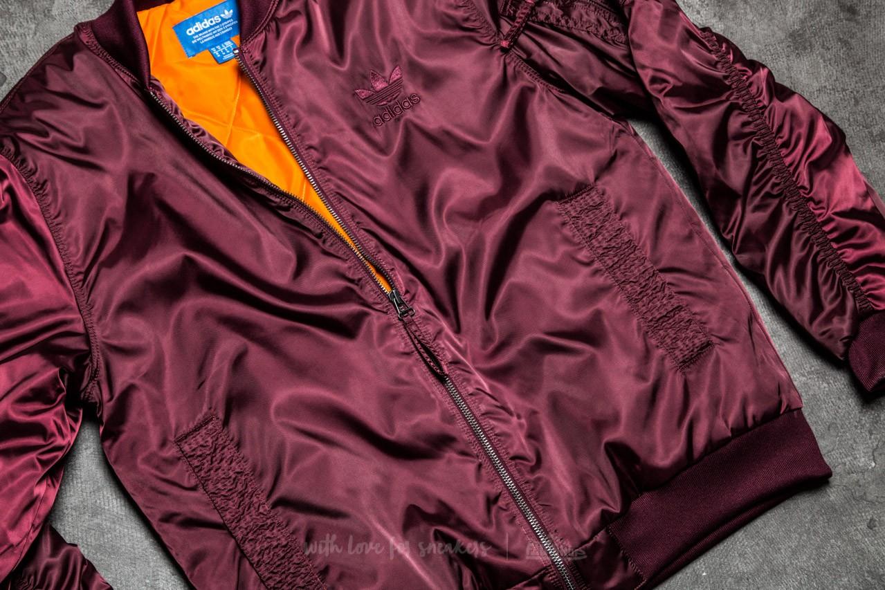 adidas MA 1 Superstar Maroon Jacket | Footshop