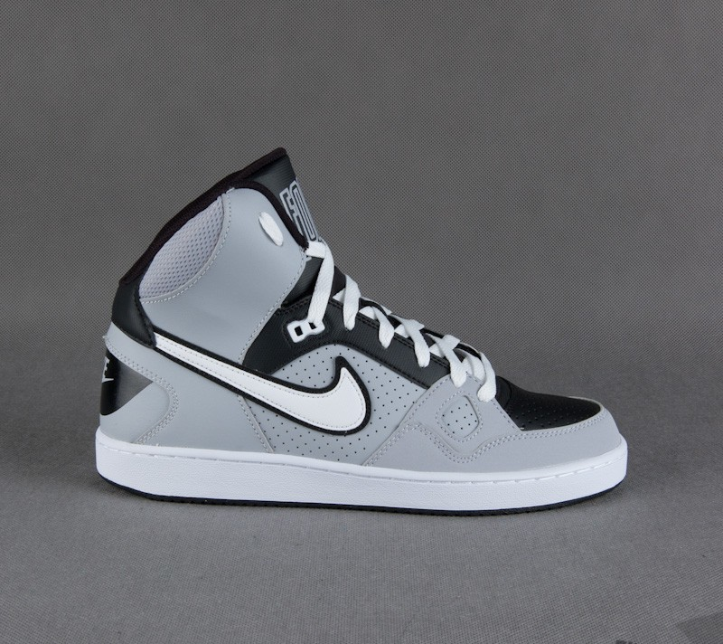 feaabe184d7 Nike Son of Force Mid Mens - Grey Wht Blk
