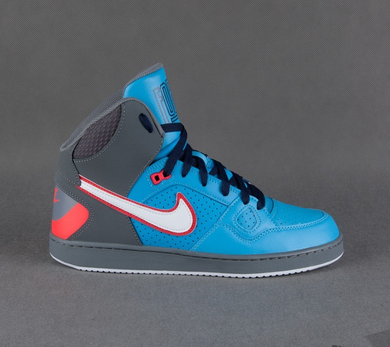 6e562a0eacff Nike Son Of Force MID Cool Grey White-Vvd Bl-Mid Navy
