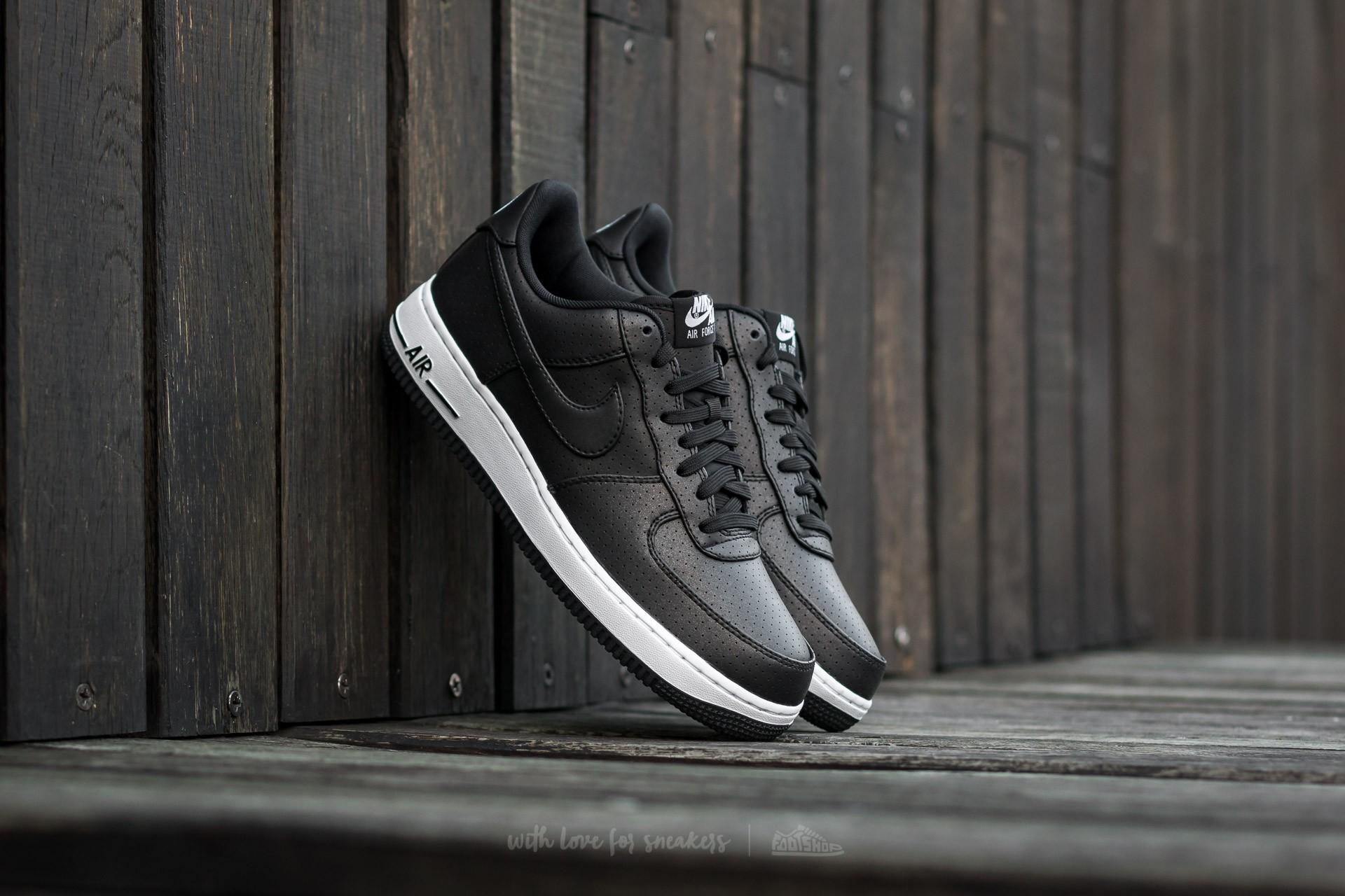 best service 8abf6 4bca6 Nike Air Force 1  07 LV8. Black  Black-White