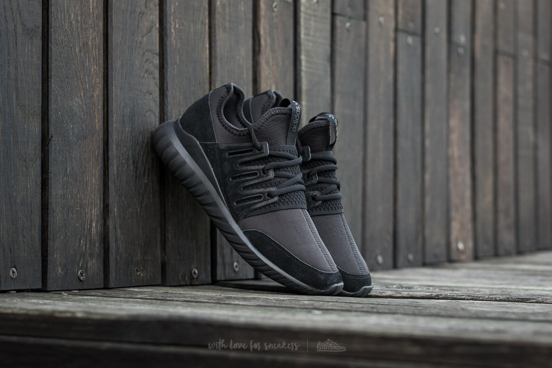 1407fce85ab7 adidas Tubular Radial Core Black  Core Black  Dark Grey