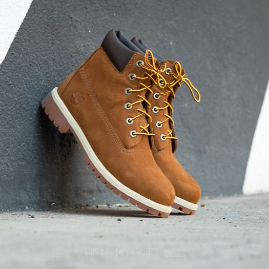 Timberland 6 in Premium Rust Nubuk Brown | Footshop
