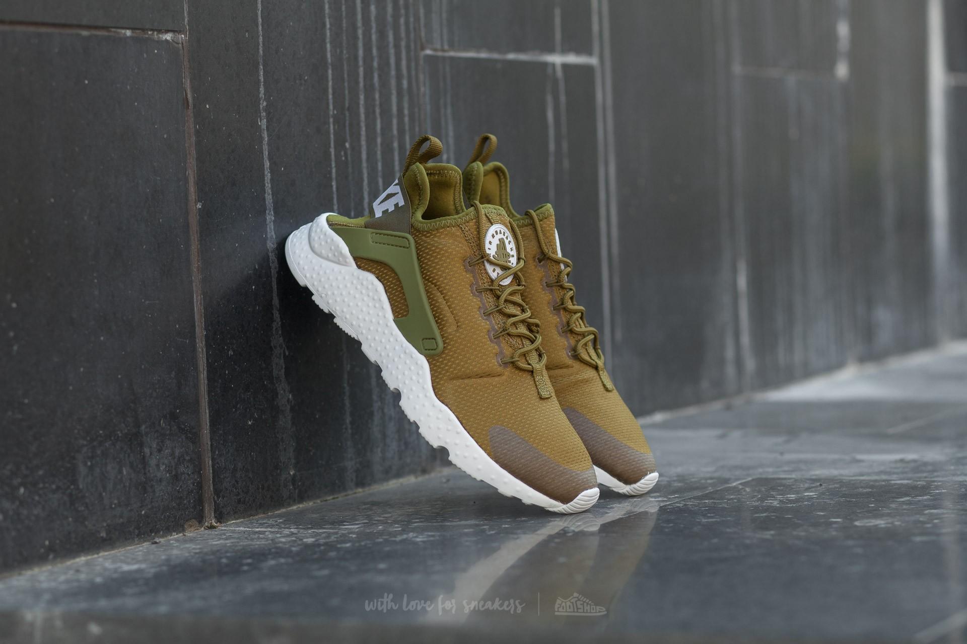 c8f226696c0a Nike W Air Huarache Run Ultra Olive Flak  White