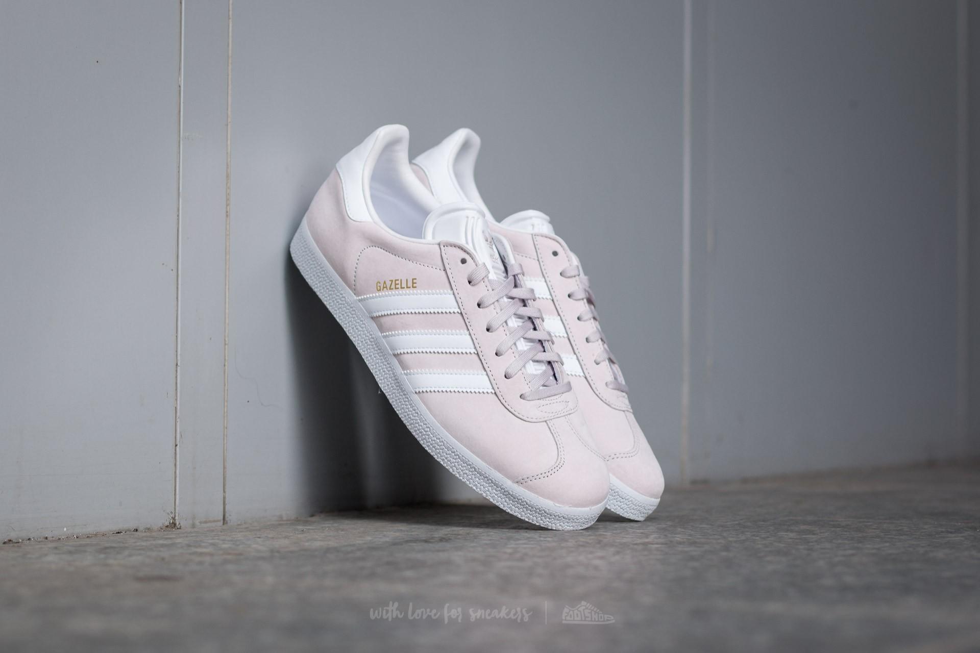 new arrival adc91 5a516 adidas Gazelle. Icepur  White  Gold Metallic