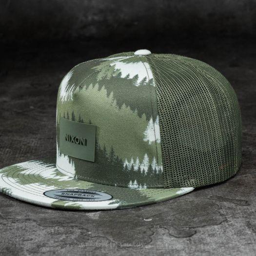 Nixon Team Trucker Hat Dark Green  a91b24e8c64