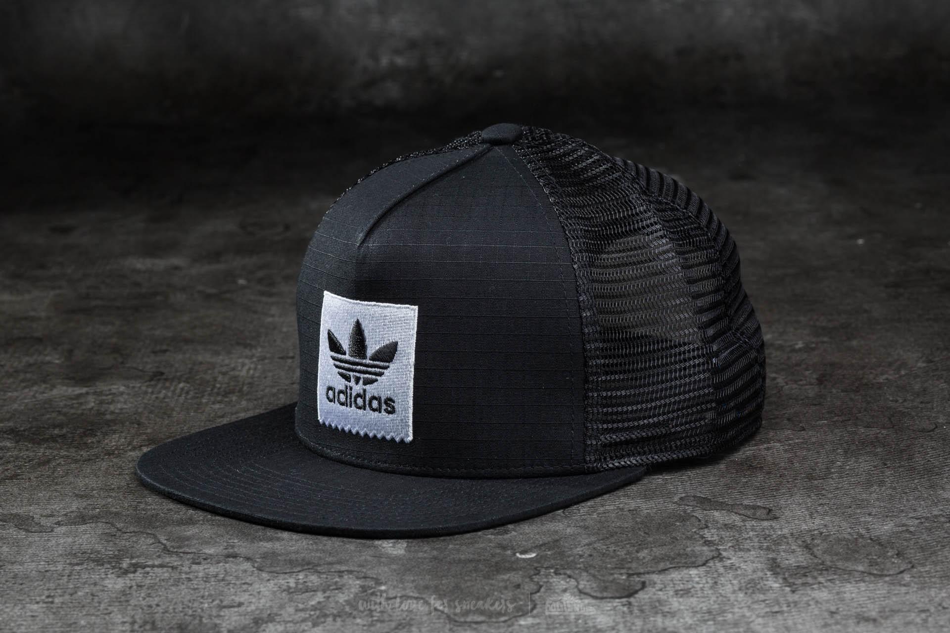 5198dfc53db93 adidas Trucker Hat 1 Black