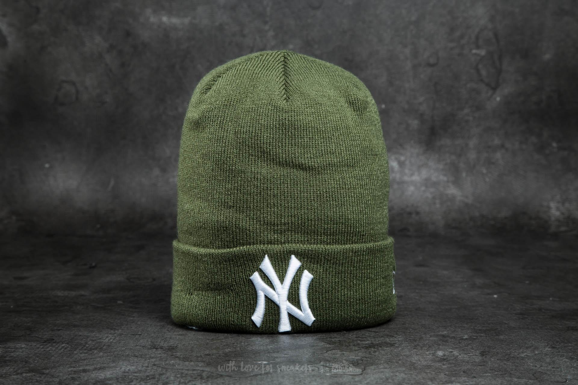 00d508ce New Era Cap Essential Cuff New York Yankees Ribbon/ Green | Footshop