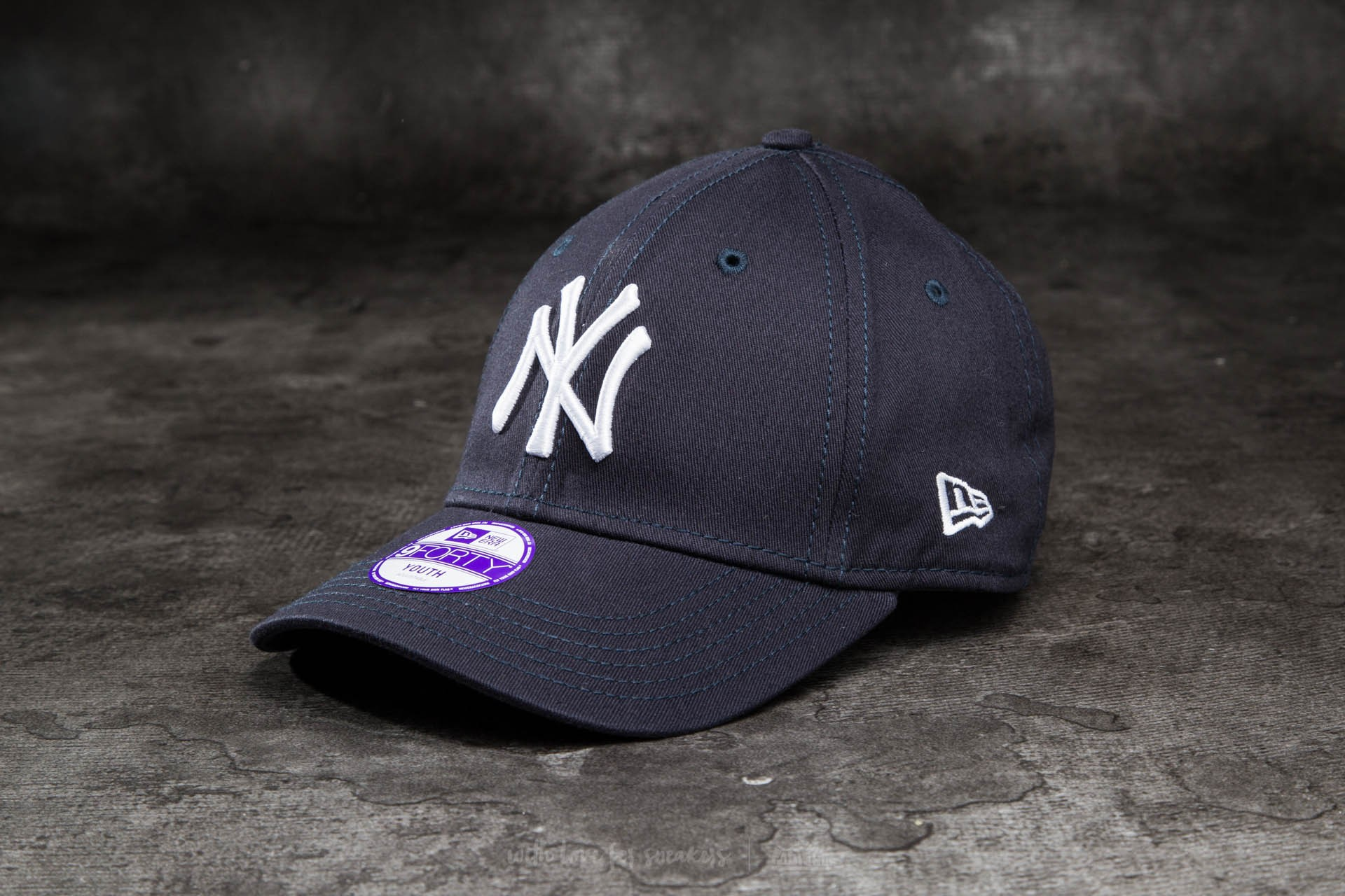 9eb00071d4a New Era K 9Forty Child Adjustable Major League Baseball New York Yankees Cap  Navy  White