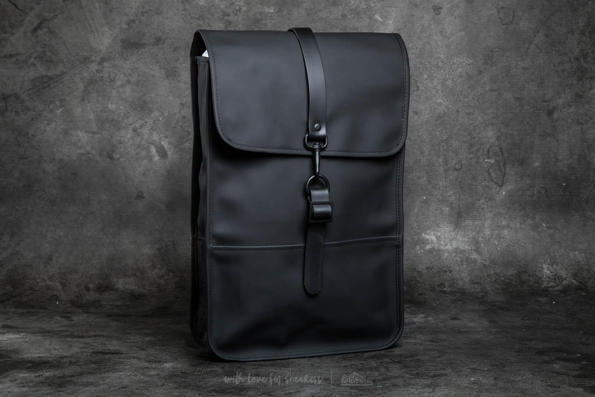 Footshop Backpack Mini Rains Rains Black Backpack qx807nRw6X