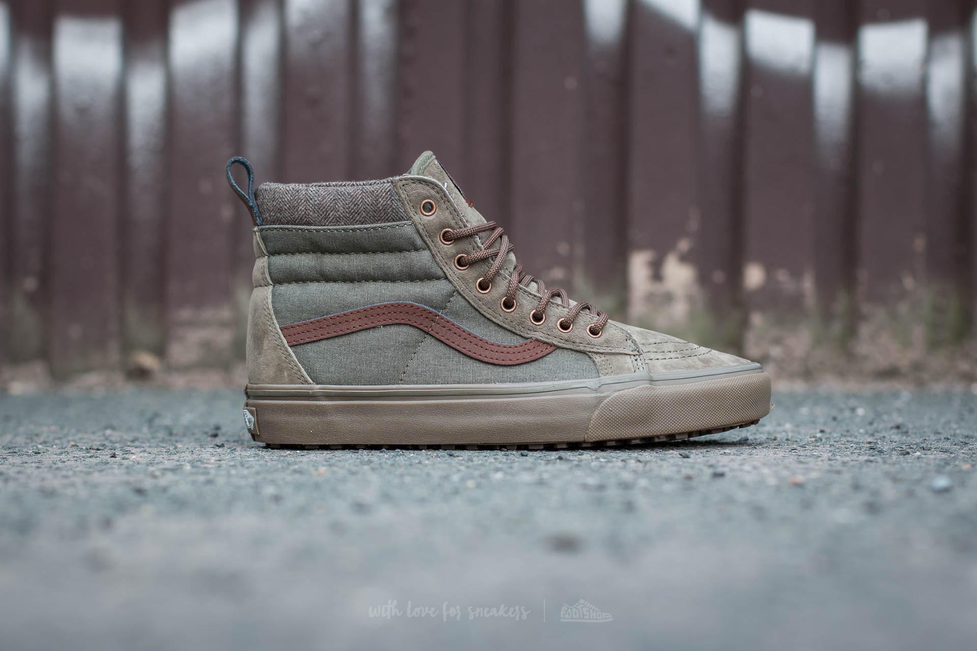 Vans Sk8-Hi MTE DX (MTE) Ivy Green/ Dark Gum | Footshop