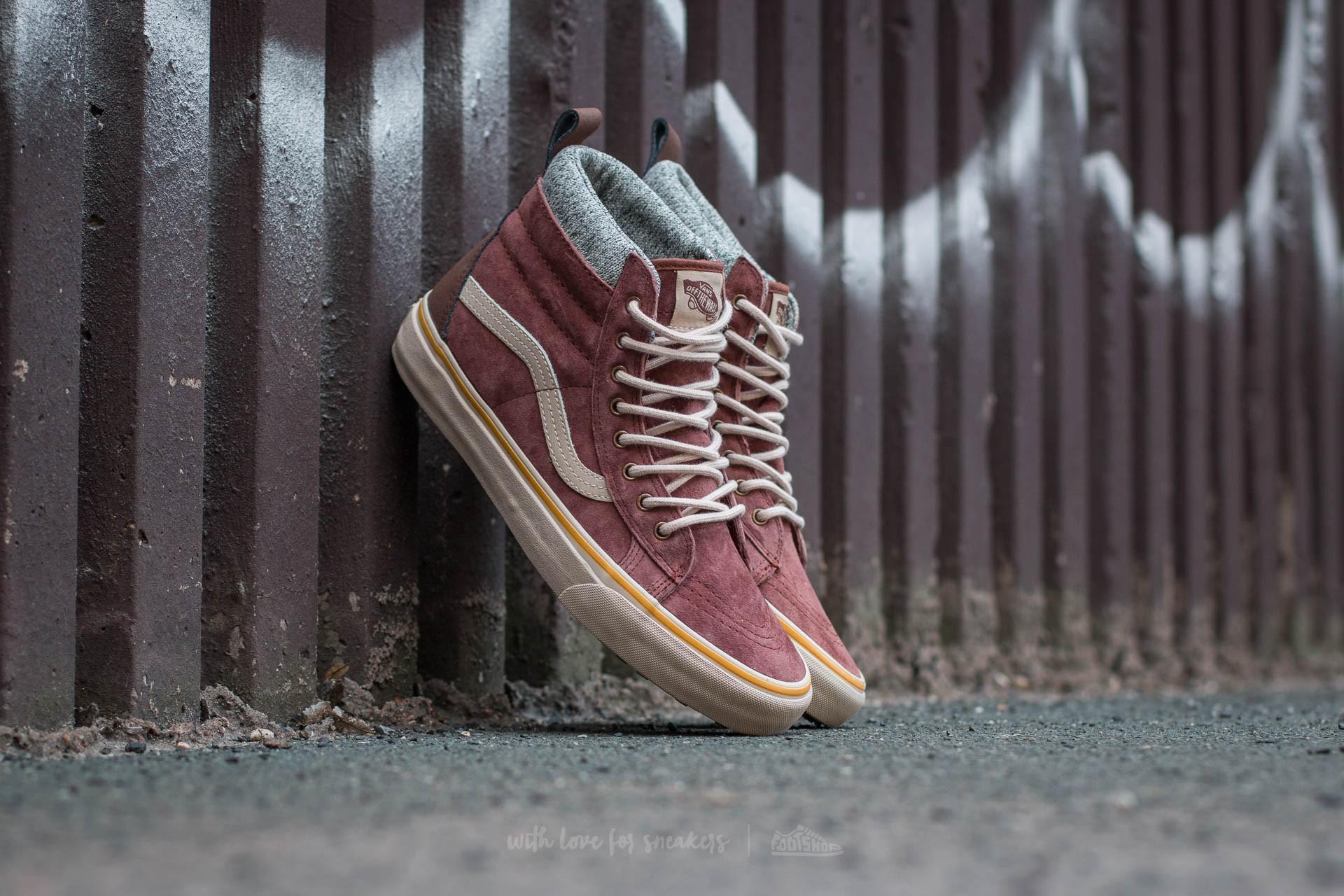 Vans Sk8-Hi MTE DX Cappuccino/ Hummus   Footshop