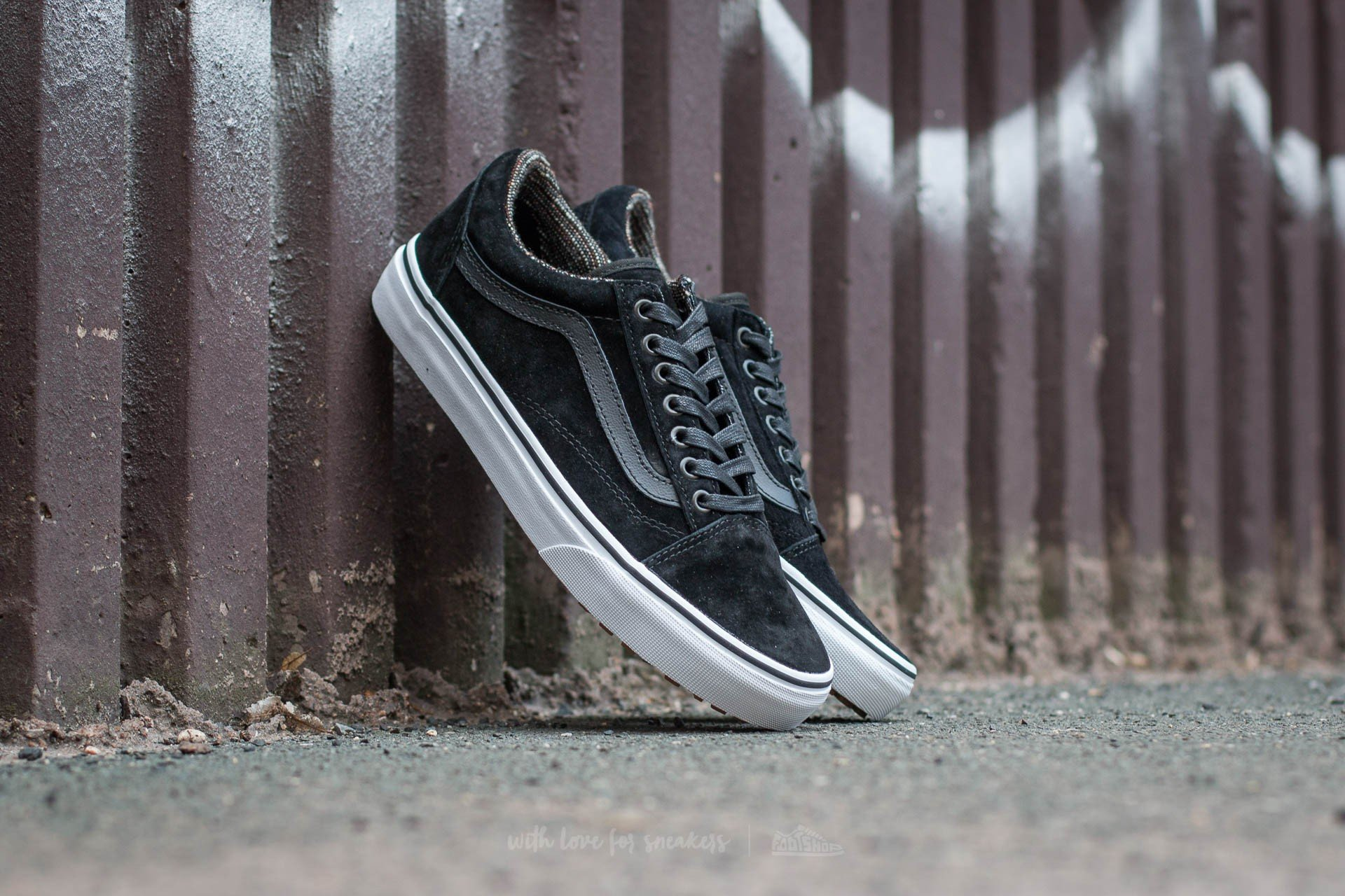 Vans Old Skool MTE (MTE) Black  Tweed  d717c61aa