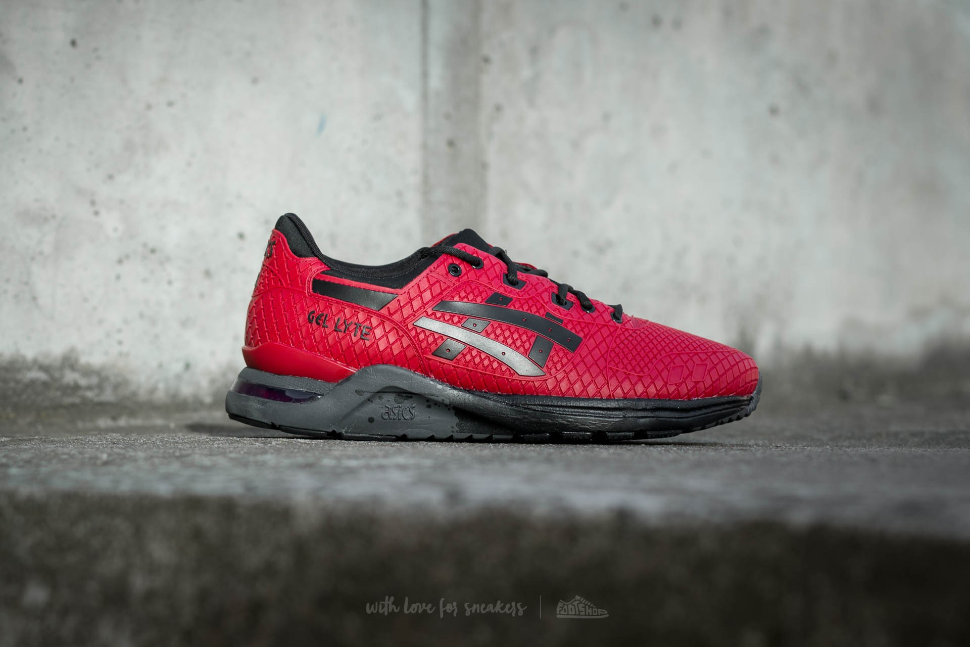 site réputé f3d41 ab95f Asics Gel-Lyte Evo Red/ Black | Footshop