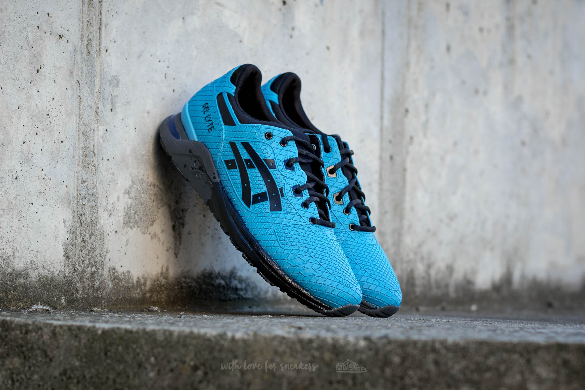 nouveau produit be747 cce25 Asics Gel-Lyte Evo Light Blue/ Black | Footshop