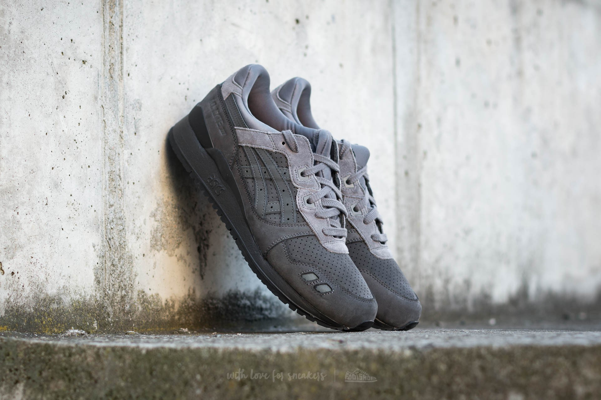 quality design 8451f 4451c Asics Gel-Lyte III Dark Grey/ Dark Grey | Footshop