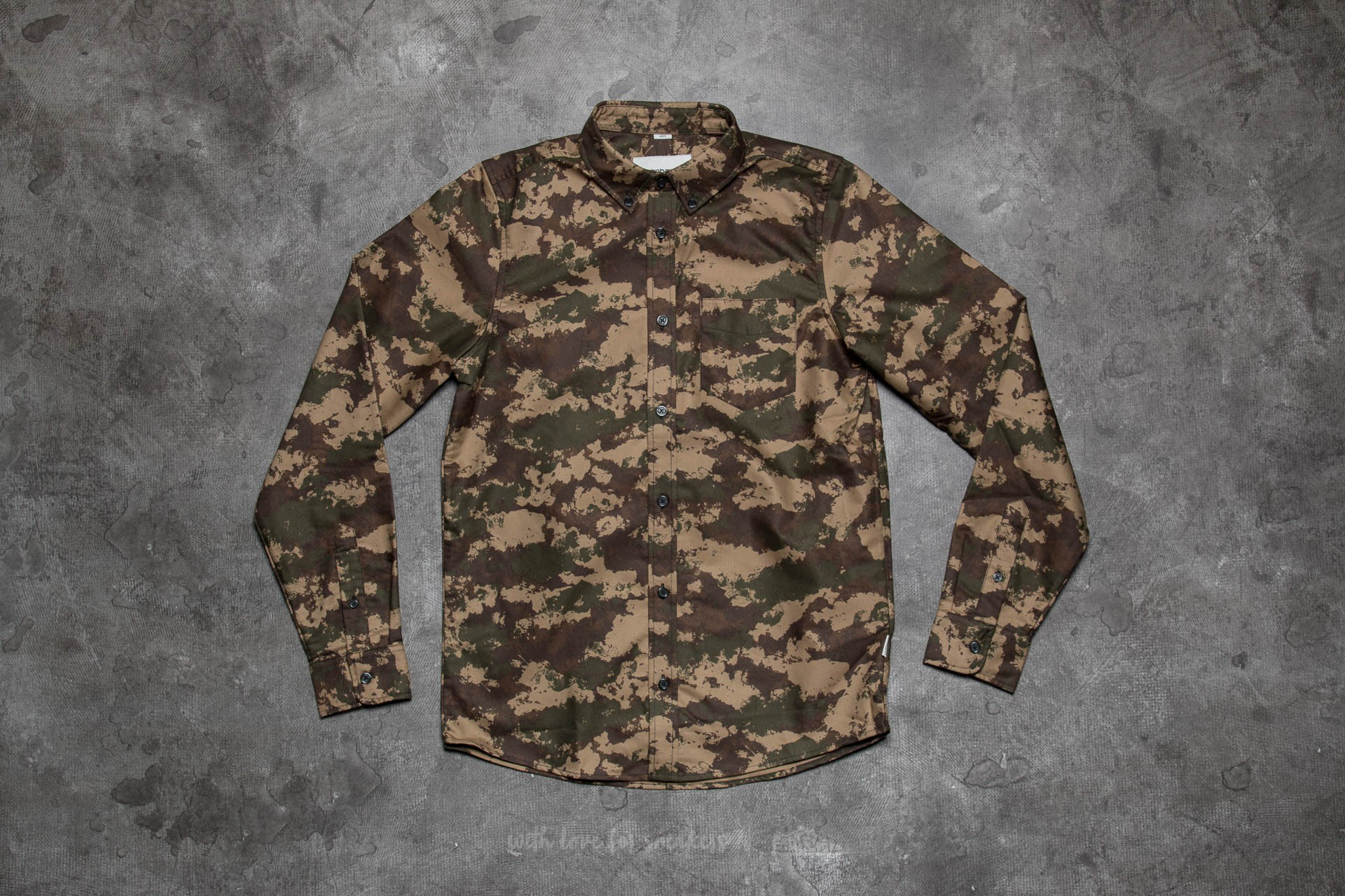 bca83e4b Carhartt WIP Camo Painted Shirt Camo Painted/ Green Rinsed ...