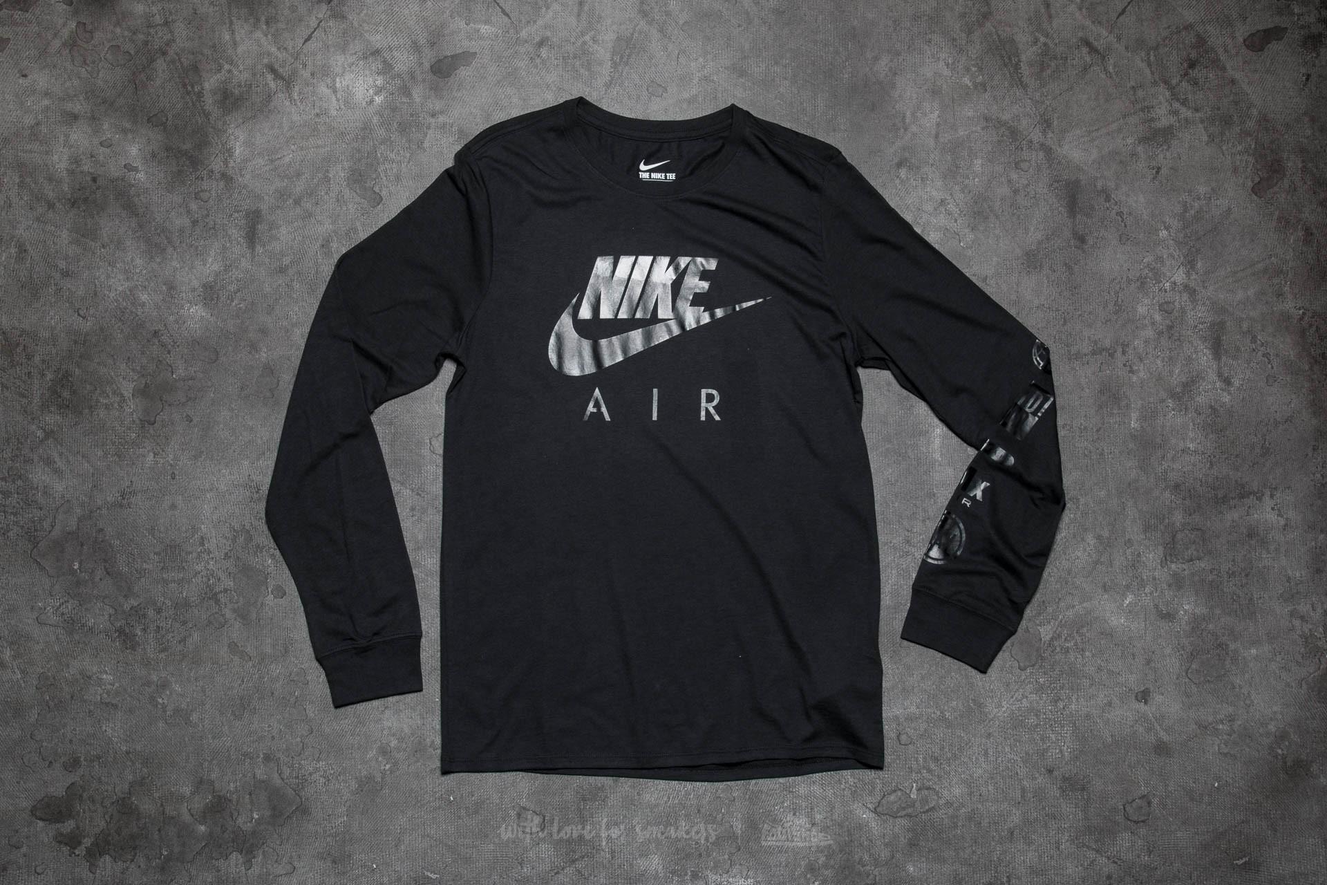 Nike Air Longsleeve Tee Black  8f6f52a6b932