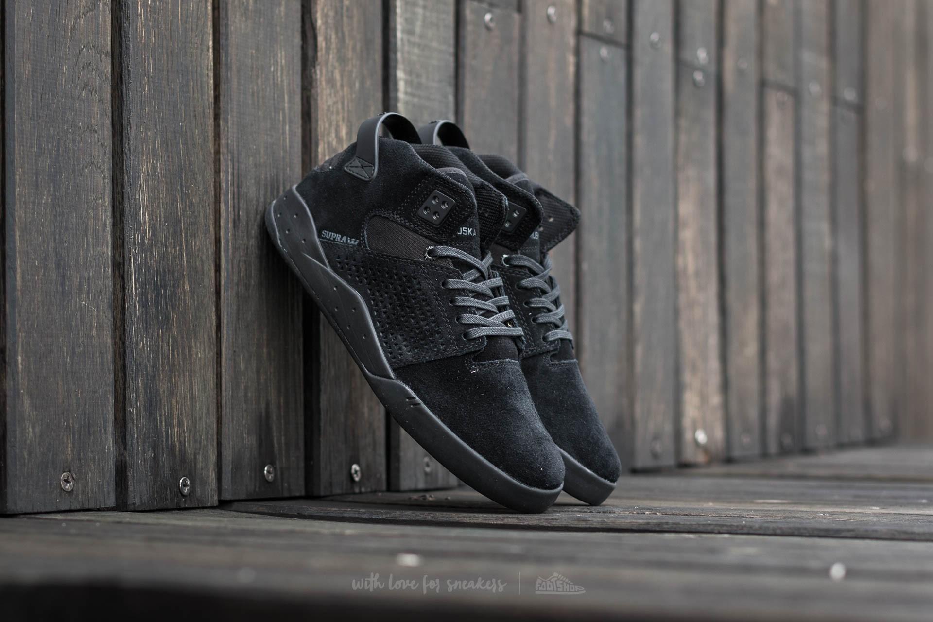 Men's shoes Supra Skytop III Black-Black