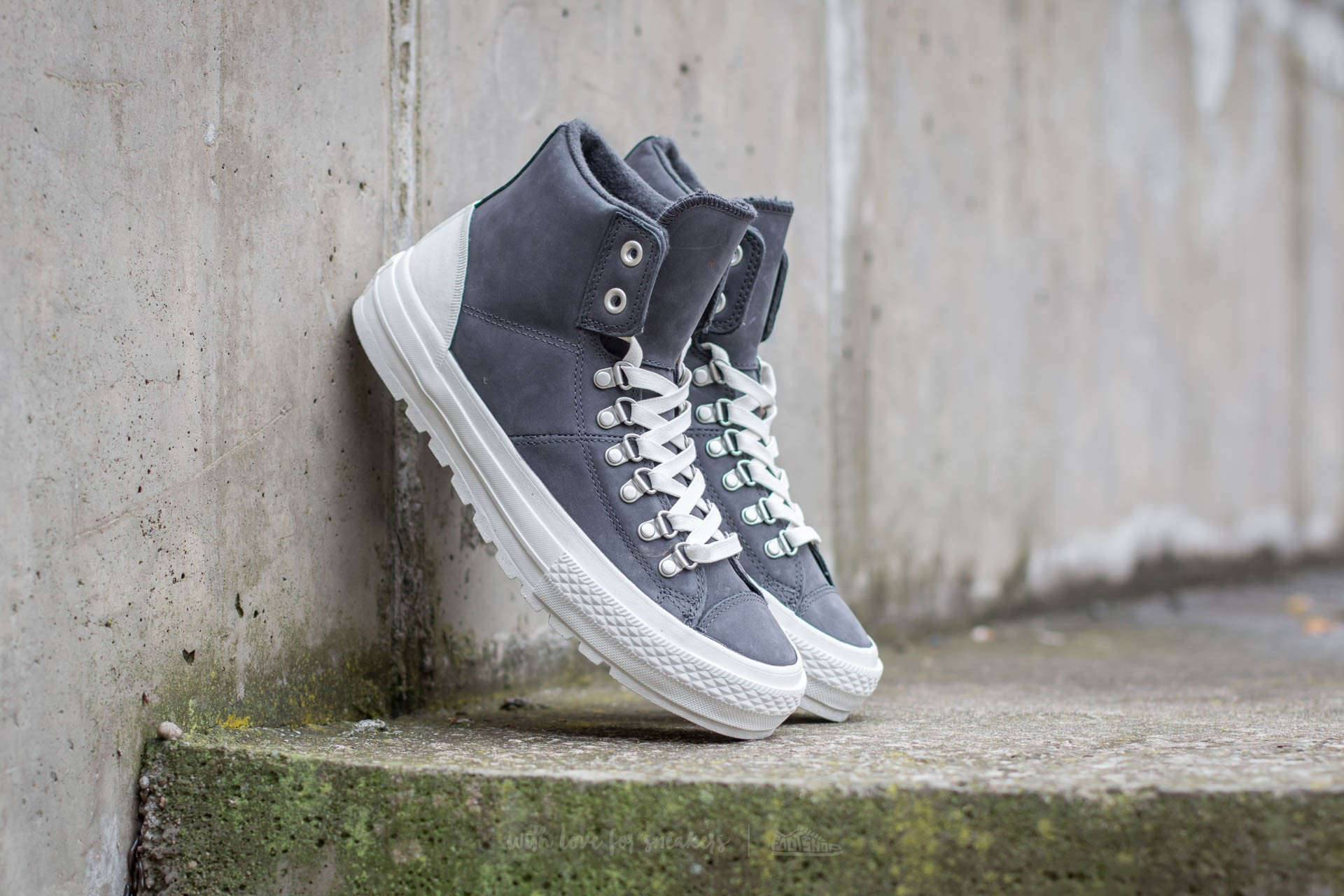 9afba5ecf03d Converse Chuck Taylor All Star Street Hiker Hi. Almost Black  Egret Ash Grey