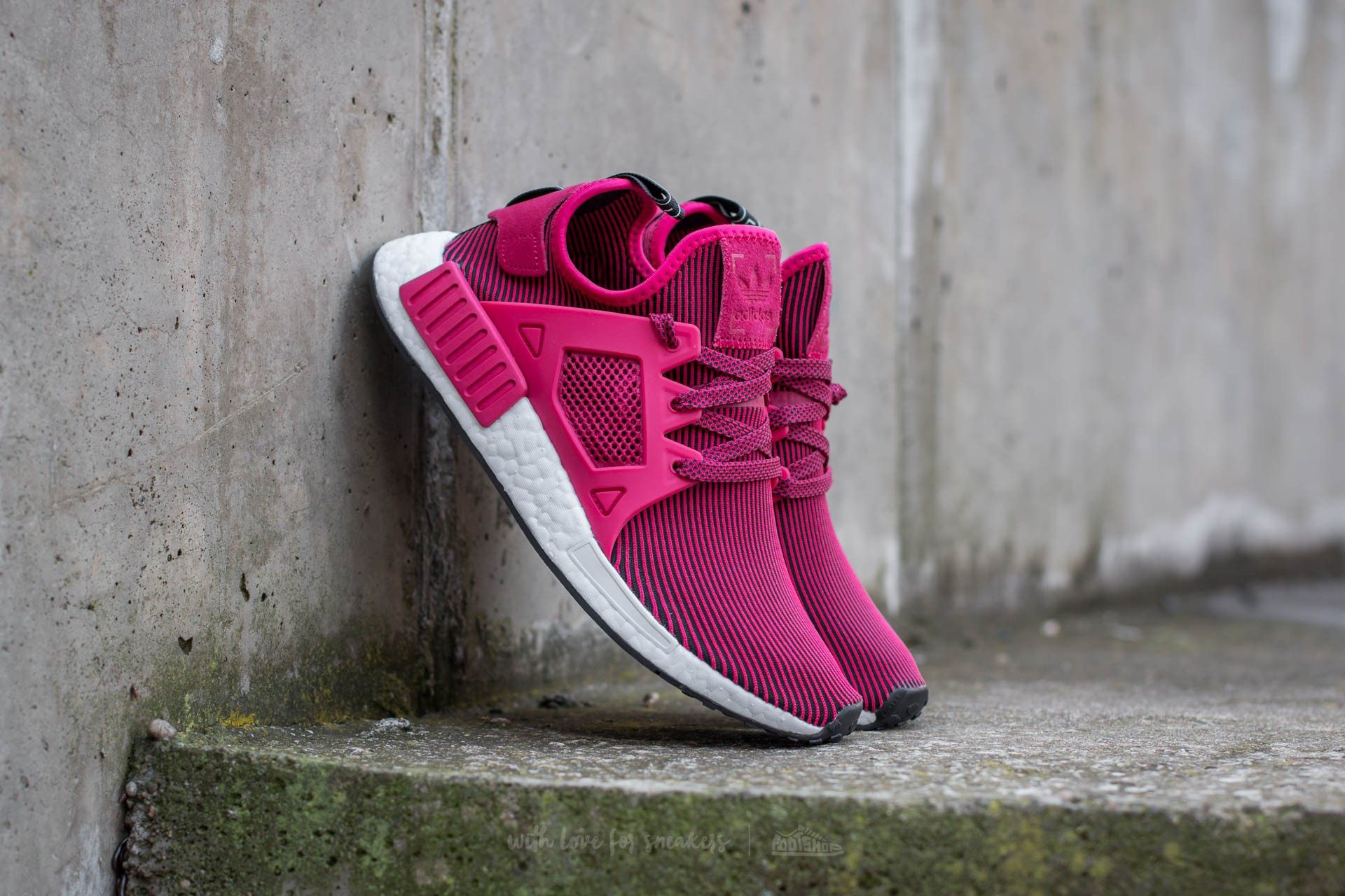 8e37f0e88 adidas NMD XR1 Primeknit W Unity Pink  Unity Pink  Core Black ...