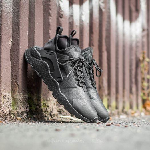 lápiz cerrar Odiseo  Women's shoes Nike W Air Huarache Run Ultra Premium Black/ Black