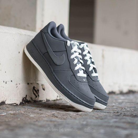 Nike Air Force 1 (GS) Dark Grey Dark Grey Sail | Footshop
