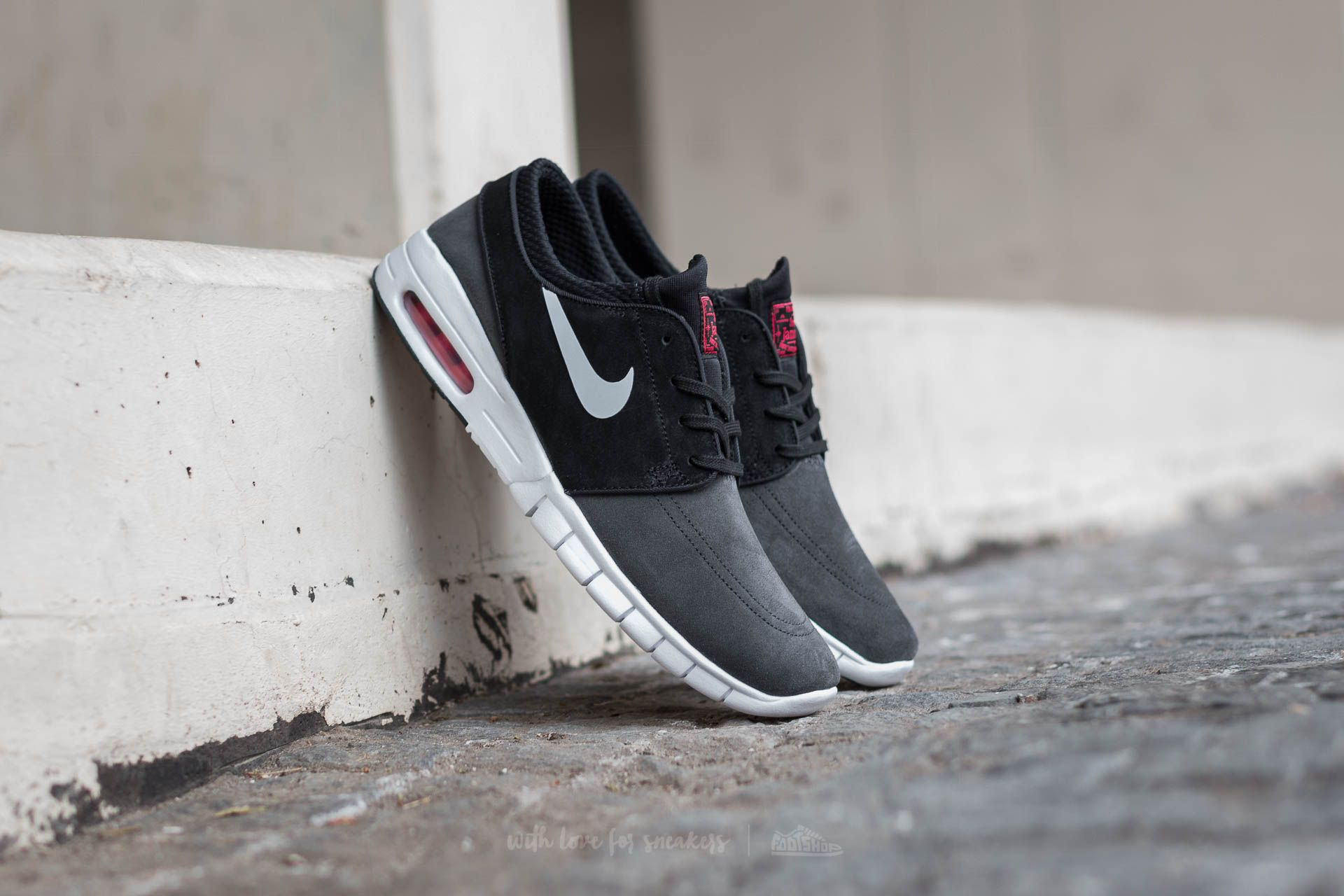 a6a8fee090 Nike Stefan Janoski Max L Anthracite/ Pure Platinum-Black | Footshop