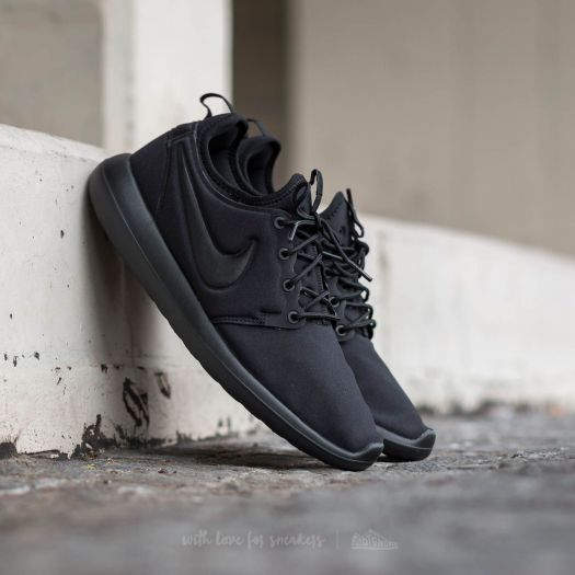 sports shoes 1c7ac b5427 Nike Roshe Two (GS) Black/ Black | Footshop