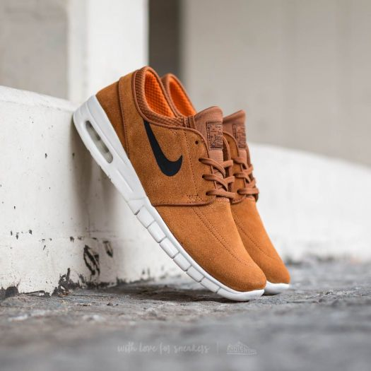 pretty nice buy sale outlet boutique Nike Stefan Janoski Max L Hazelnut/ Black-Ivory | Footshop
